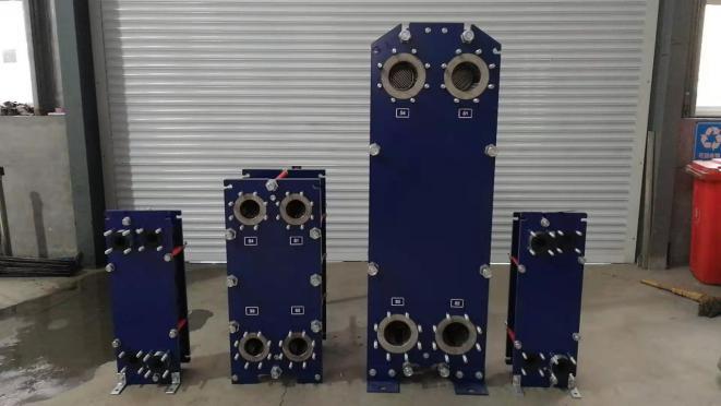 板式换热器结构原理