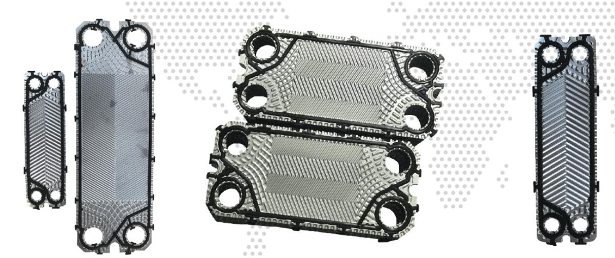 板式换热器安装示意图