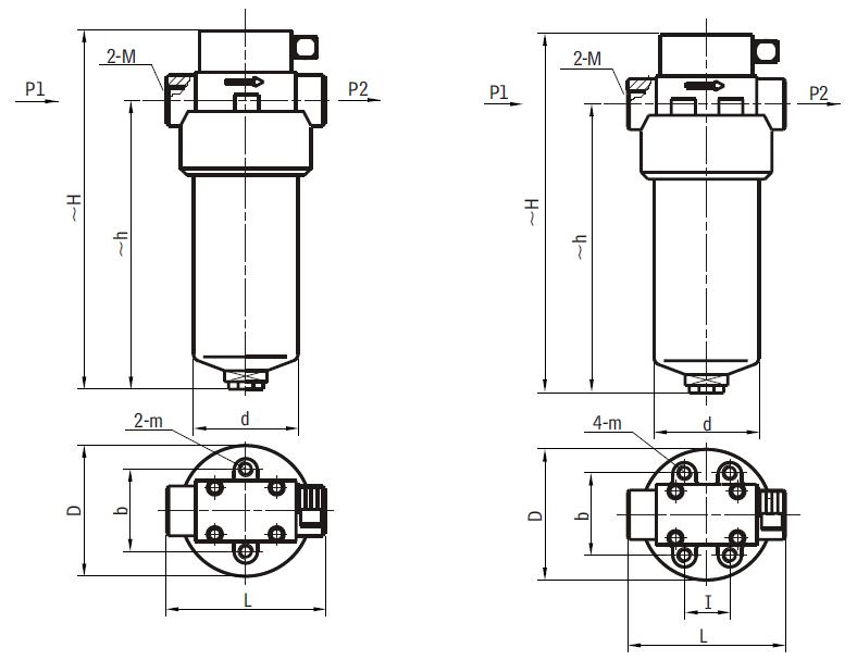 管道高压过滤器规格