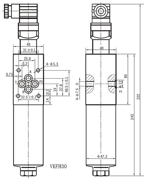 阀块过滤器原理图
