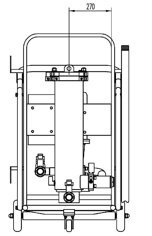 移动式高效滤油车原理图