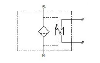 管道高压过滤器原理图